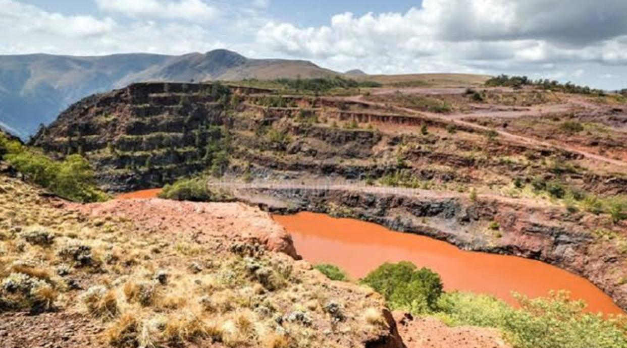 Ngwenya Mine in Africa, the world's oldest mine opened 41,000 to 43,000 years ago