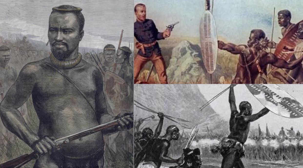 Dabulamanzi kaMpande (1839 –1886). He commanded the Zulus at the Battle of Isandlwana against British