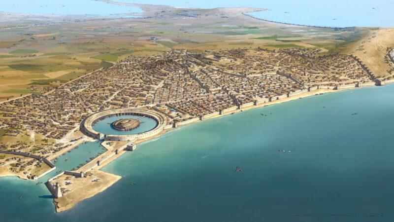 Kingdom of Carthage founded in 814 BC in North Africa. Fought wars with Rome