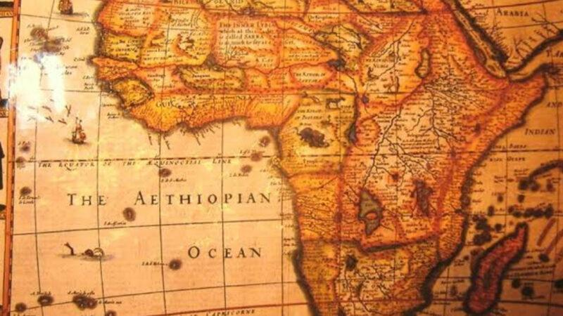 The Atlantic Ocean was known as Ethiopian Ocean until the 19th century
