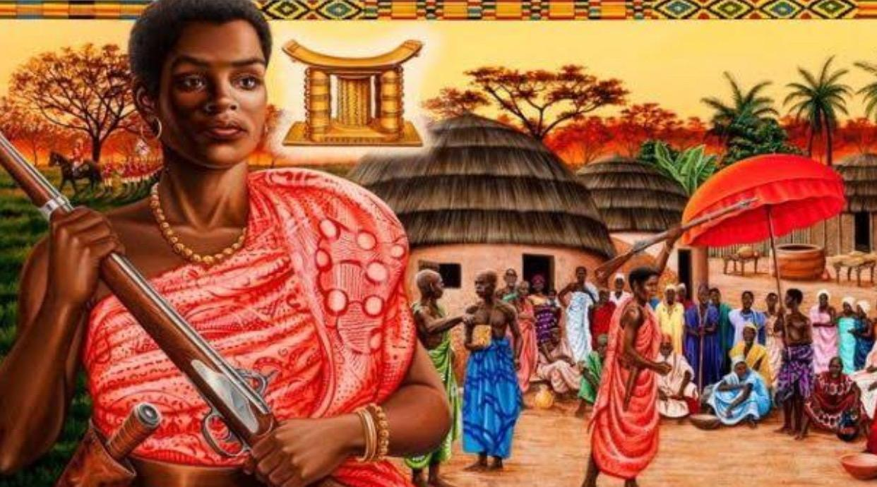 Yaa Asantewaa, the queen mother of Ejisu in the Ashanti Empire, Ghana [1840 – 1921]