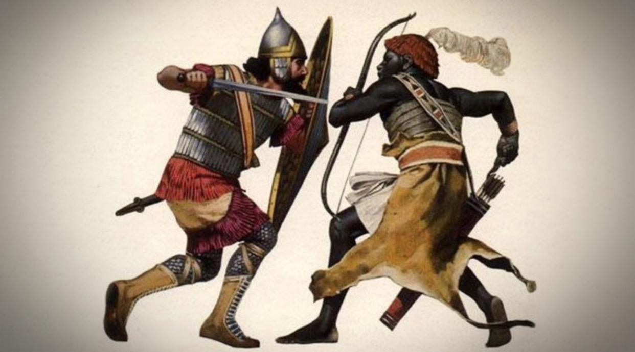 Battle of Dongola between early Arab-Muslims and Nubian of Makuria Kingdom in 642