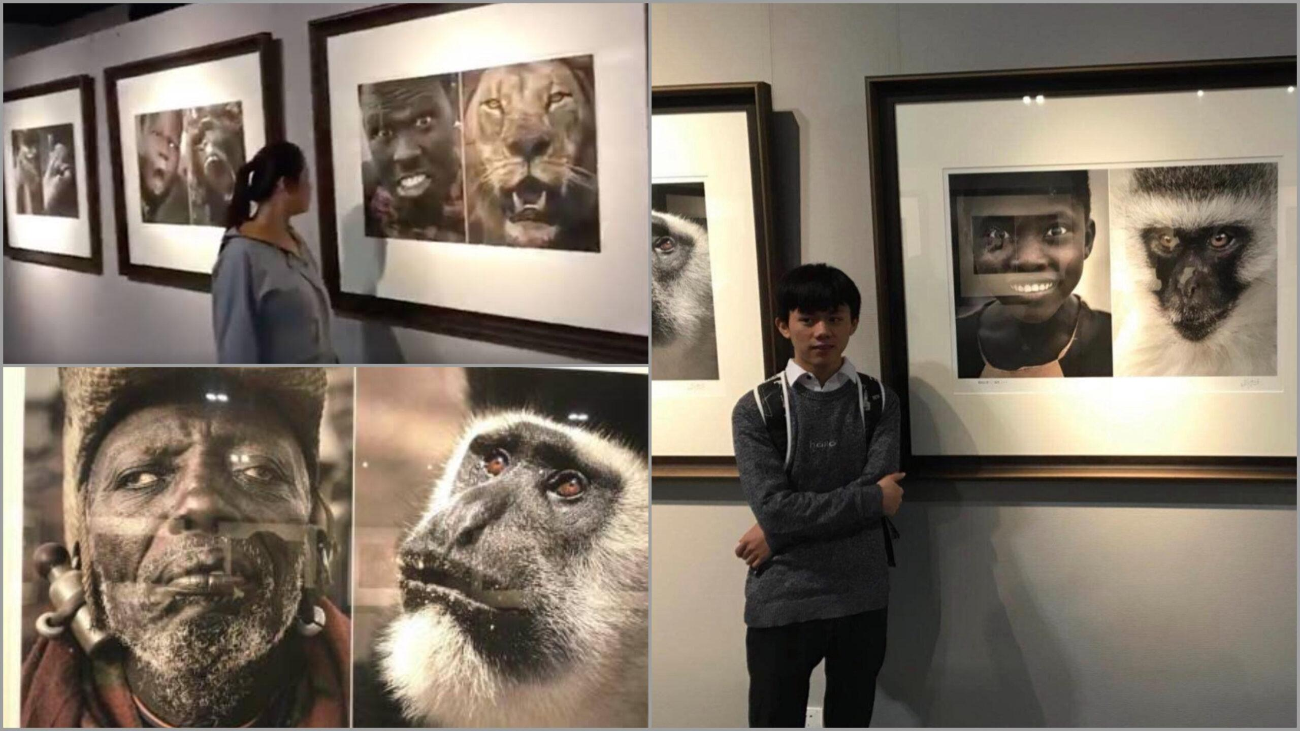 Museum in China that put on an exhibit that compared Africans to animals