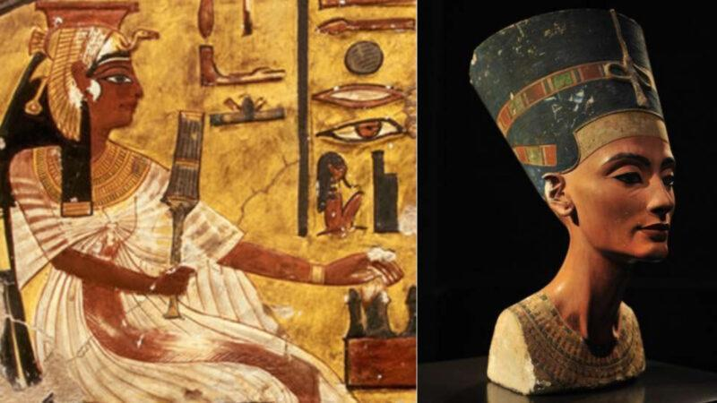 Queen Nefertiti, one of the most beautiful female figures from the ancient world
