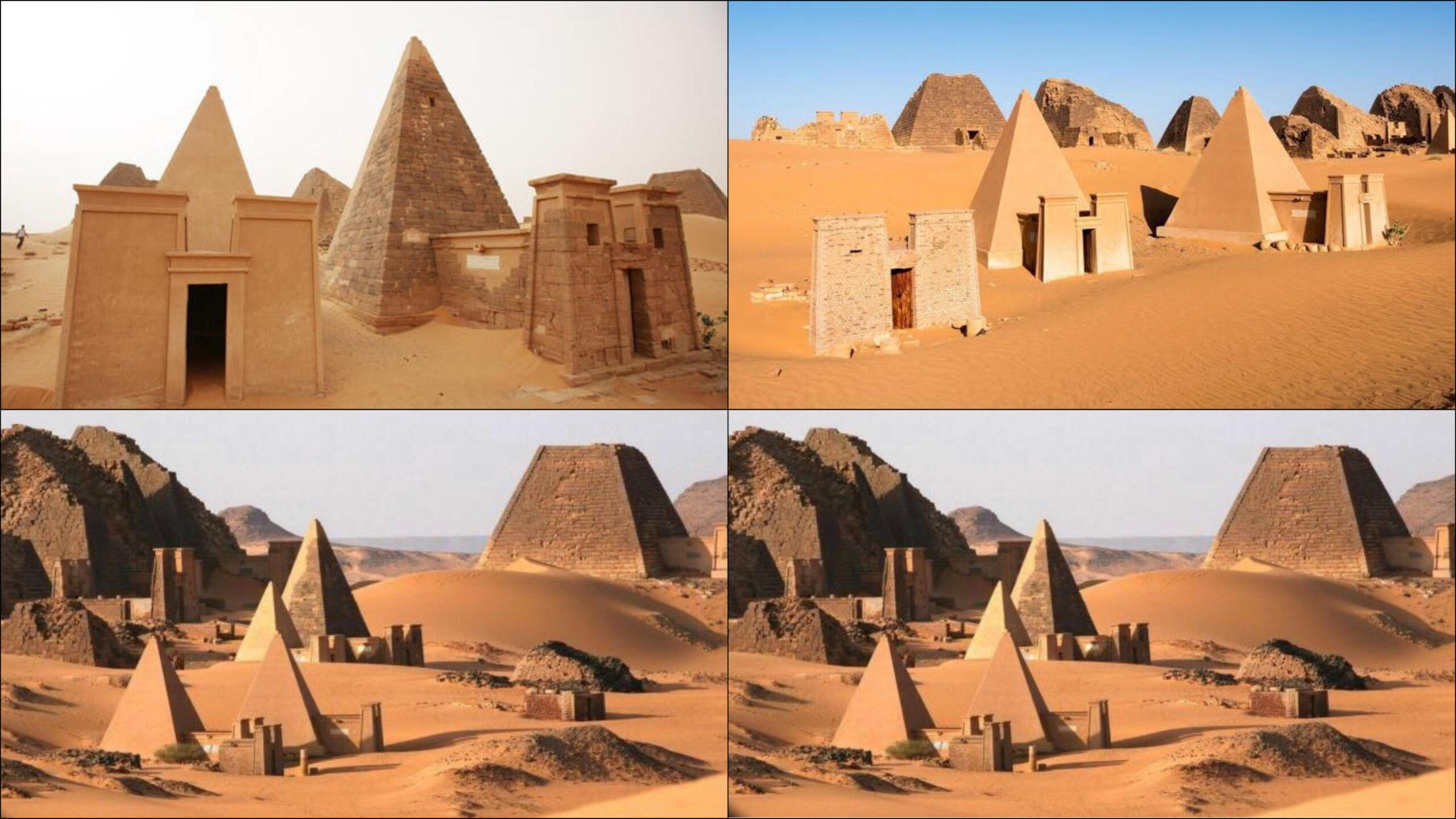 Kush Empire, present-day Sudan has more pyramids than Egypt