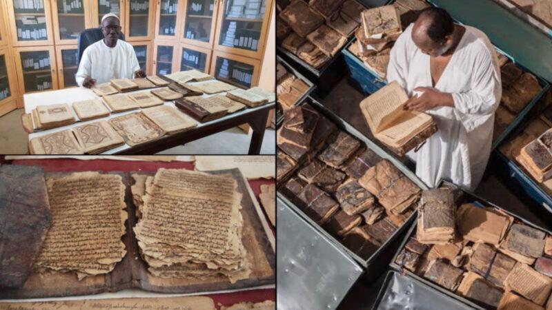 700,000 Ancient African Books survived in Timbuktu University, Mali