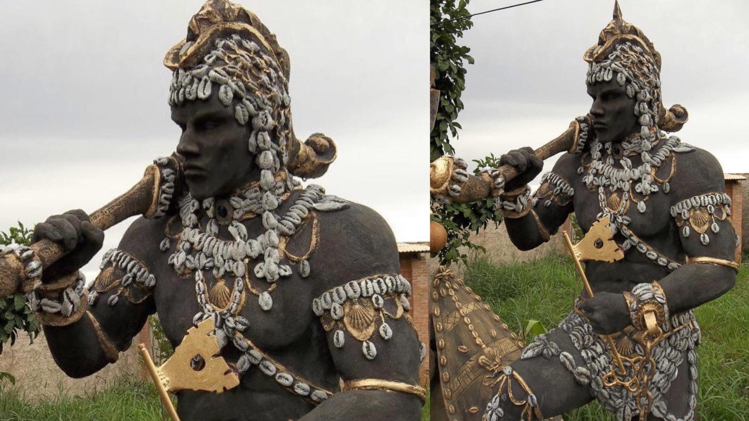 Male self-presentation is deified as Erinle in Yoruba and Nefertum in Kemet