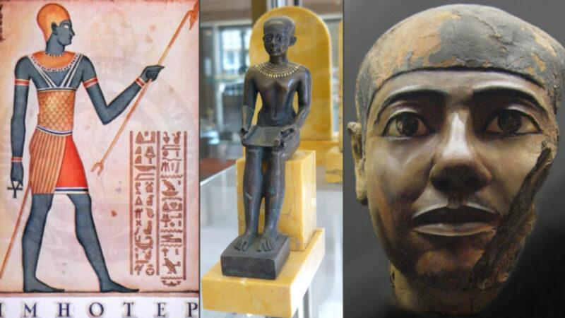 Imhotep from Africa is the first doctor in history
