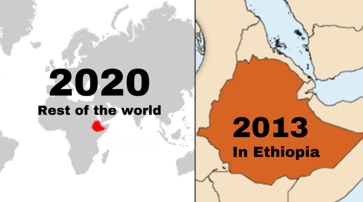 Why Ethiopia is seven to eight years behind the rest of the world