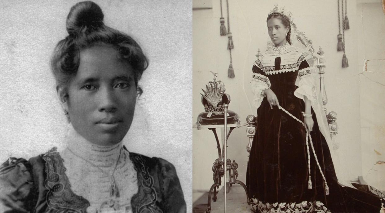 Ranavalona III, the last queen of the Kingdom of Madagascar [1881 – 1897]