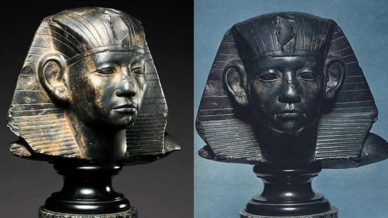 King Amenemhat III [1860–1814 B.C] Ancient Kemet (Blacks)