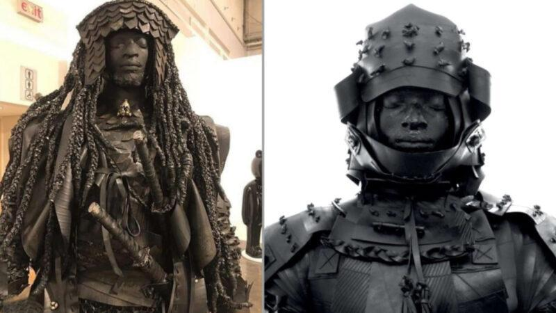 Story of African man from Mozambique. Yasuke, the first Japan's black Samurai in history