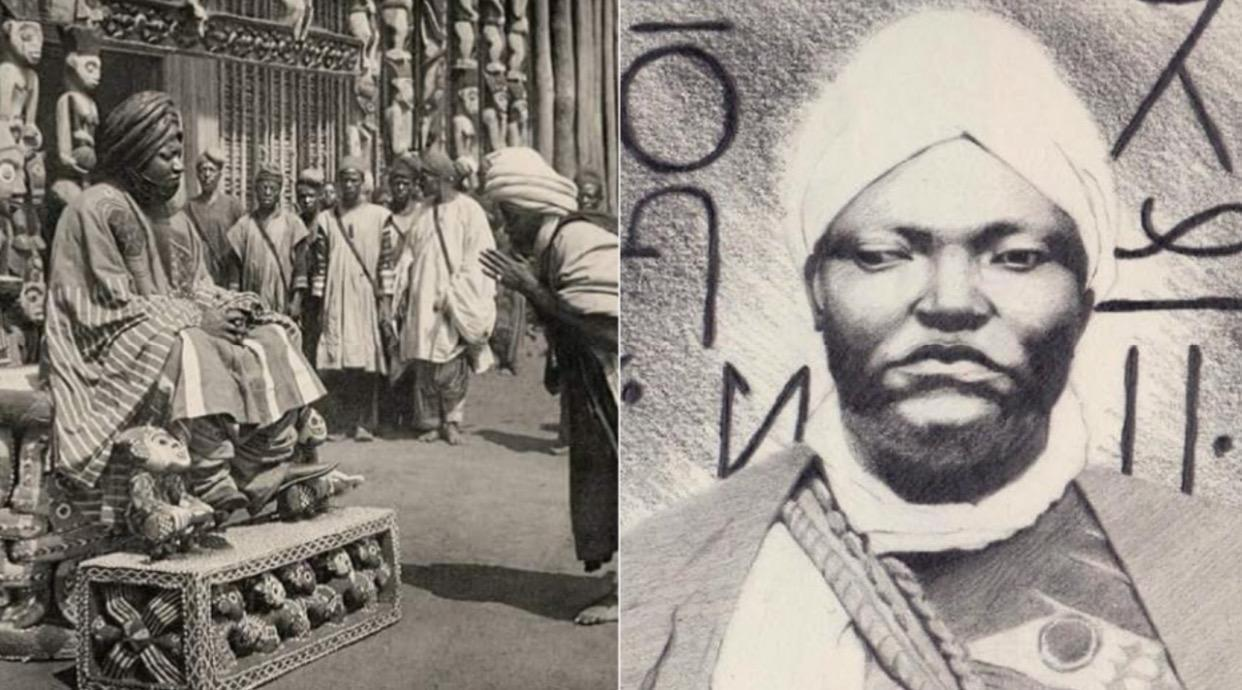 Ibrahim Njoya, the African King who developed writing method that was destructed by French