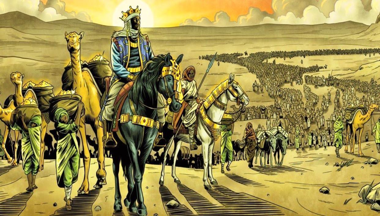 Mansa Musa crashed economy of Egypt & Arabia during his journey to Mecca in 1324 AD