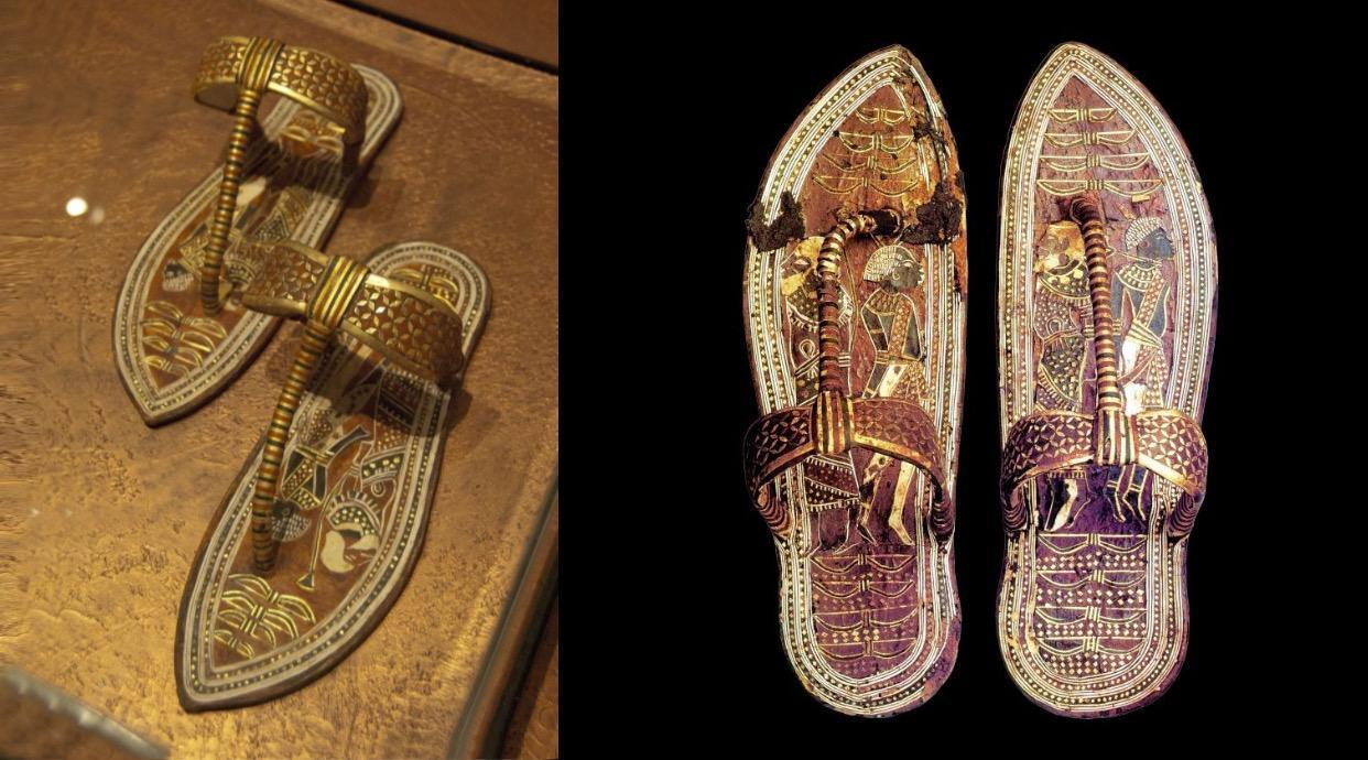 3,300-Year-Old Sandals of King Tutankhamun