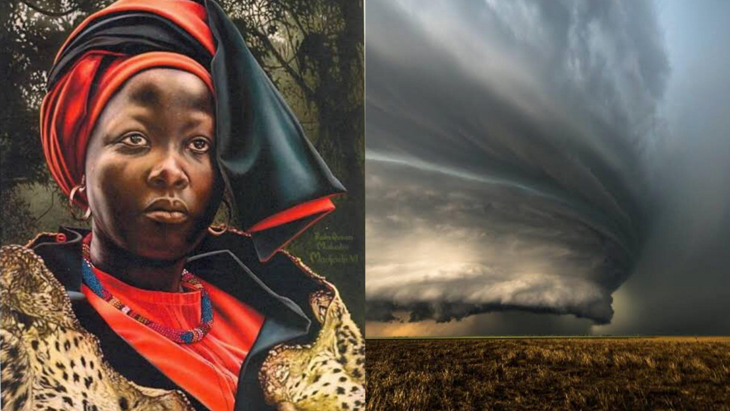 African sky rulers: The Rain Queens of Balobedu with ability to control clouds & rainfall