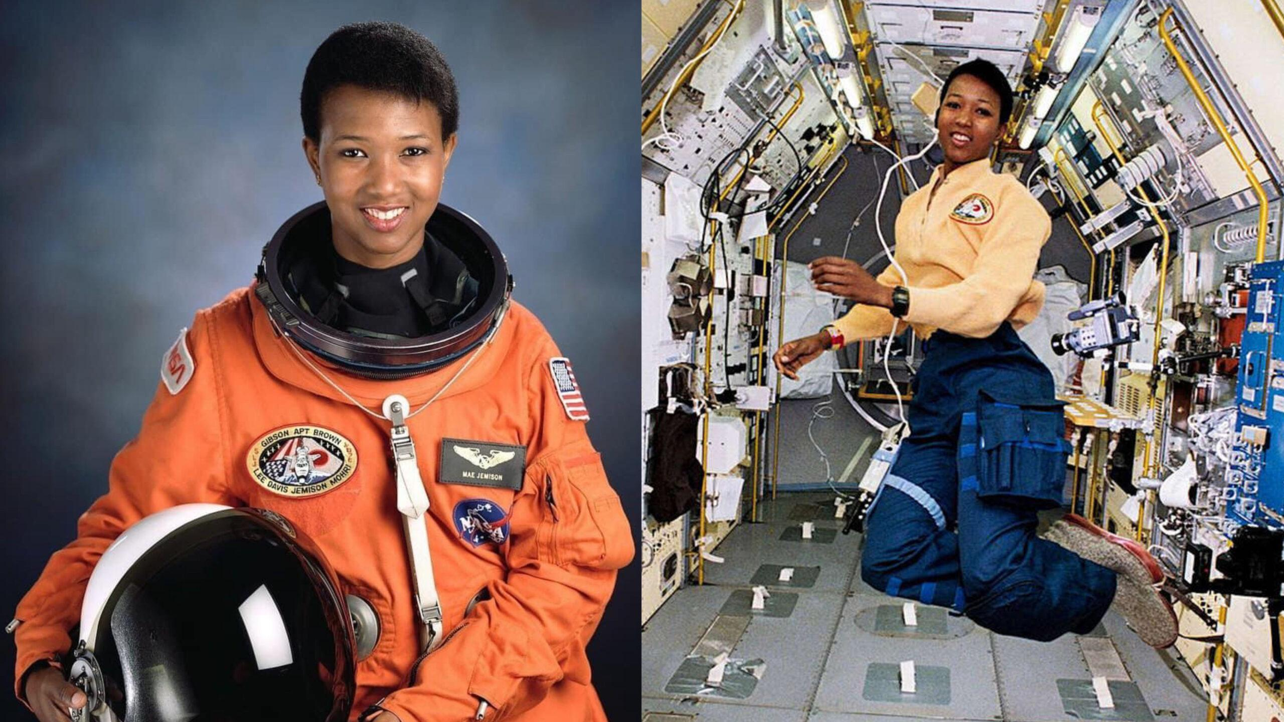 Dr. Mae Jemison the first Black Woman to travel into Space