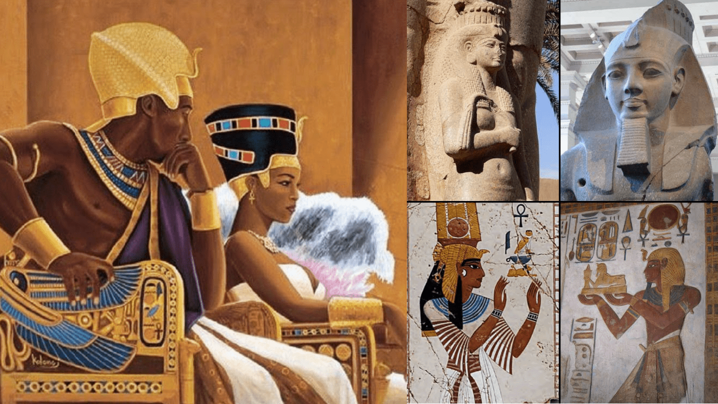 Love story: Pharaoh Ramesses II the great & Queen Nefertari 3000 years ago