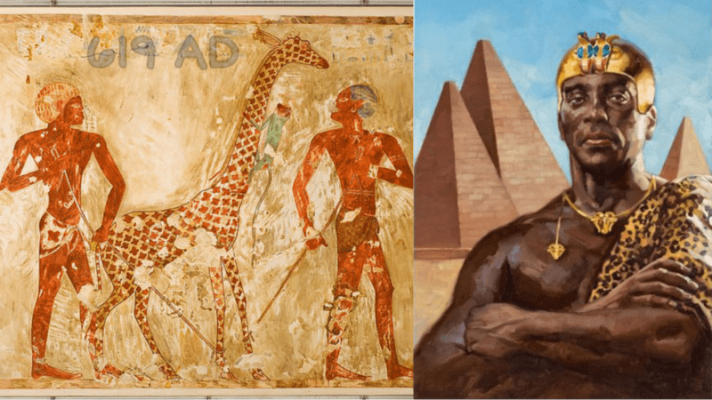 Over 1400 years ago, Nubians defeated Persians & sent them a gift of a giraffe