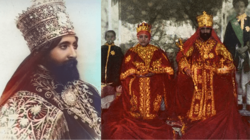 King of Kings of Ethiopia, Haile Selassie I the last Emperor. One of AU founders