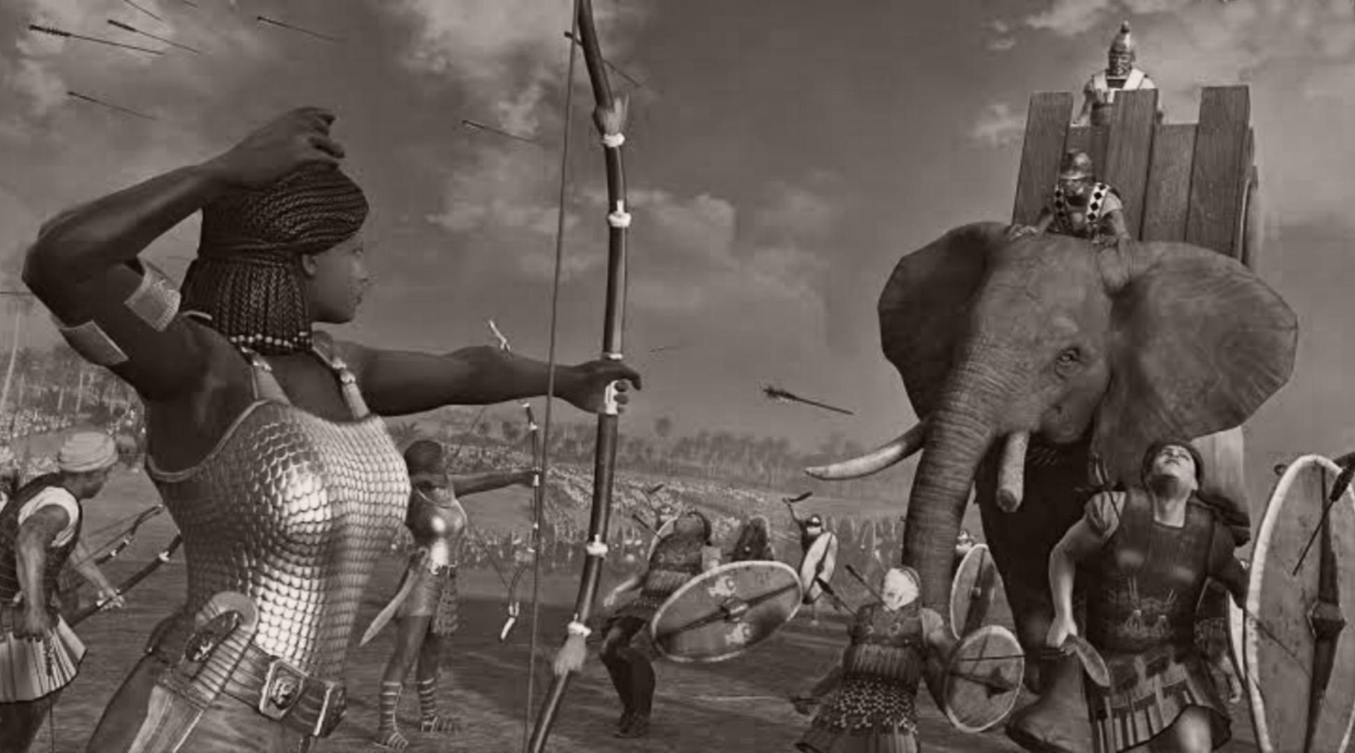 Kush Kingdom: Queen Amanitore who commanded armies to battle (50 CE)