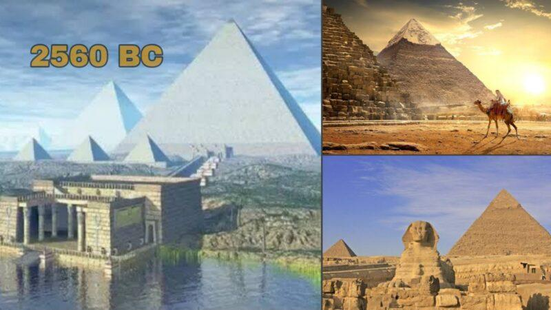 The Great Pyramid was the world's tallest man-made building for over 3,800 yrs