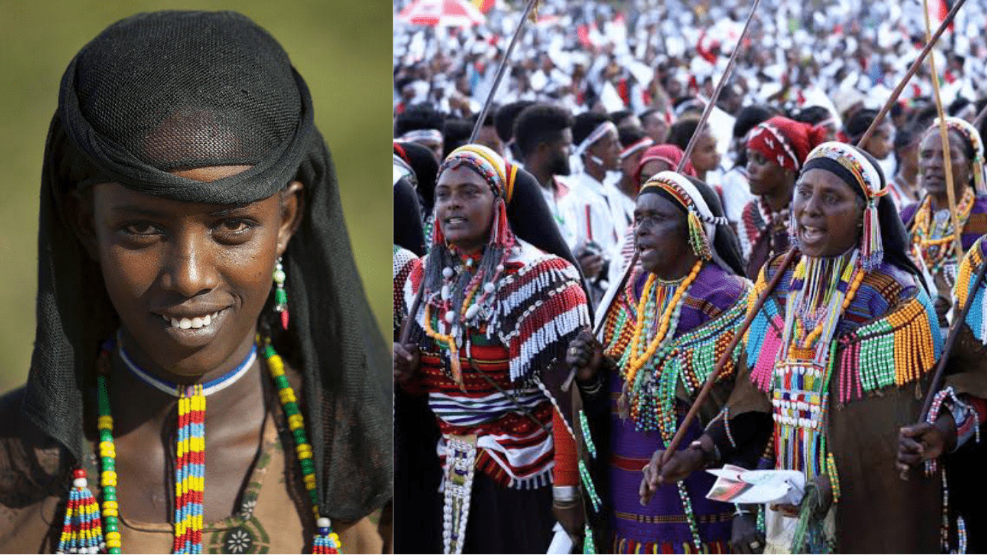 Oromoo: The largest ethnic group in Ethiopia. Praised for the 'Battle of Adwa'