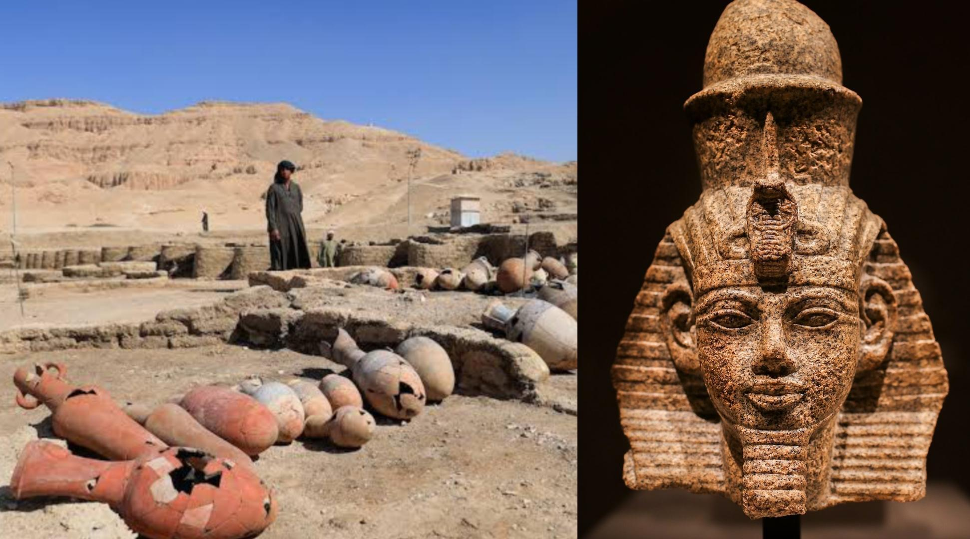 3,000 year-old 'golden city' discovered in Egypt