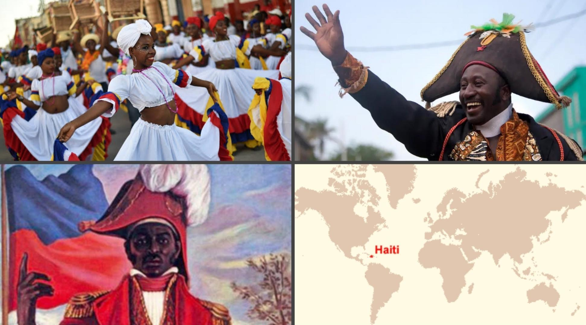 Haiti: the world's first black-led republic and only nation established by slave revolt in history