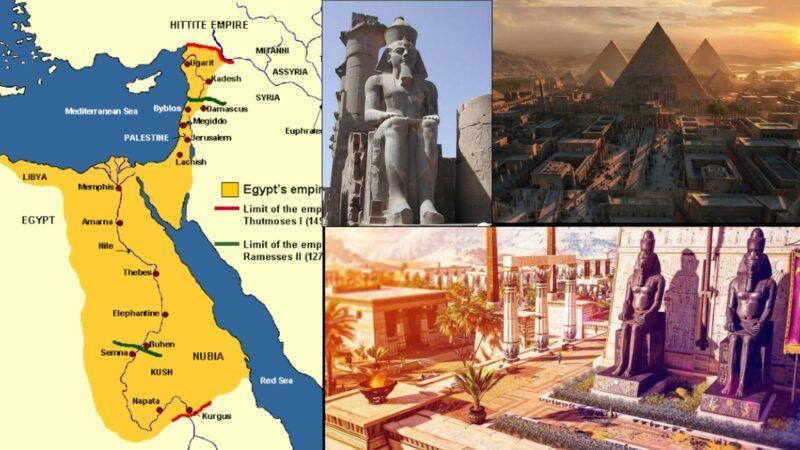 Egyptian Empire c. 1550 BC–c. 1077 BC