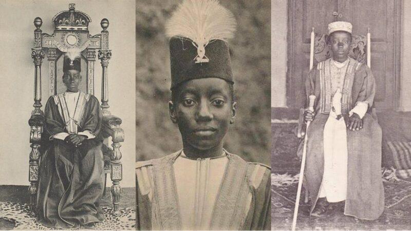 King Daudi Cwa II of Buganda Kingdom. Born in 1896 & became a King at age of 1 in 1897