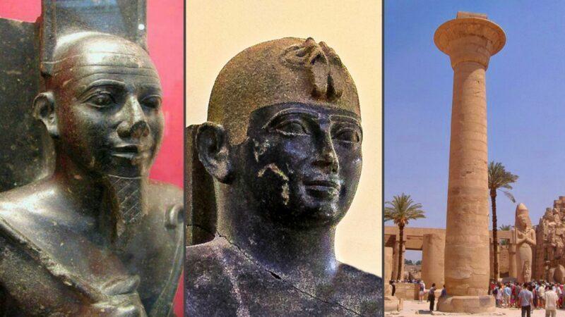 Taharqa, King of Kush who conquered Egypt & ruled both Kingdoms 690 BC to 664 BC