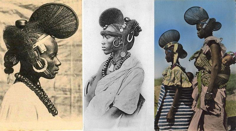Traditional Fulani hairstyles that existed for centuries
